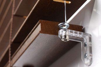 Żaluzja pozioma drewniana 50 mm